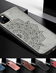 cheap -Luxury Fabric Phone Case For iphone 11 Pro / iphone 11 / iphone 11 Pro Max Case Cloth Texture Back Cover Soft TPU Frame Fundas Car Metal Magnet For iPhone XS Max XR XS X 8 Plus 8 7 Plus 7 6 Plus 6