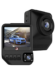 cheap -JUNSUN Q2 1080p Car DVR 170 Degree Wide Angle 2.33 inch Dual Lens IPS Dash Cam with Night Vision/G-Sensor/Parking Monitoring/4 infrared LEDs/WDR/Loop recording/Motion detection