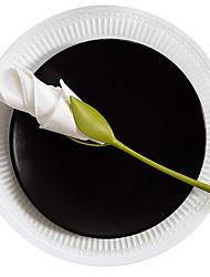 Недорогие -Держатели салфеток бумага розы цветок филиал салфетка держатель стойки стол ресторан ну вечеринку декор