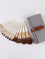 cheap -Professional Makeup Brushes 15pcs Professional Soft Comfy Wooden / Bamboo for Makeup Brush