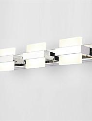 cheap -50cm 18W Modern LED Bedroom Mirror Lamp Bathroom Lights Stainless and Acrylic Wall Lights Make-up Lighting