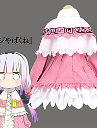 cheap -Inspired by Miss Kobayashi's Dragon Maid Cosplay Anime Cosplay Costumes Japanese Cosplay Suits Dress Shawl For Women's