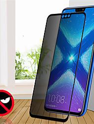 Недорогие -защитная пленка для экрана конфиденциальности для huawei honor 8x / 7x / y9 2019 анти-шпион закаленное стекло высокой четкости
