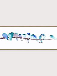 cheap -Framed Art Print Framed Set - Abstract Animals PS Oil Painting Wall Art