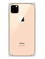 cheap -Case For Apple iPhone 11 / iPhone 11 Pro / iPhone 11 Pro Max Shockproof / Transparent Back Cover Solid Colored TPU