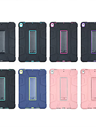 cheap -Case For Apple Applicable to iPad Air 2019 Anti-fall Silicone Case Pro 10.5 Support All-inclusive Shell with Stand Flat Cover