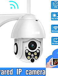 cheap -2MP 1080P IP Camera Outdoor Wired & Wireless Security Surveillance Camera 3.6mm Lens Support 32 GB Two Way Audio IP66 Waterproof Onvif Protocol Motion Detection