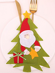 cheap -Christmas Ornaments Christmas Non-woven Mini Cartoon Christmas Decoration