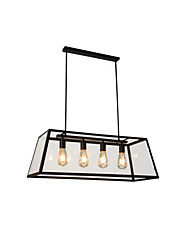cheap -MAISHANG® 4-Light 78 cm Chandelier Metal Glass Island / Industrial Painted Finishes Retro Vintage / Country 110-120V / 220-240V