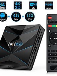 cheap -HK1 PLAY S90X2 4GB/32GB Android 9.0  Quad-Core 64bit TV Box with Digital Display 4K HD TV BOX