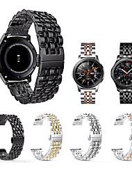abordables -pour samsung galaxy regarder 46mm / vitesse s3 / gear2 / gear2 neo / vivre en acier inoxydable bracelet de bracelet