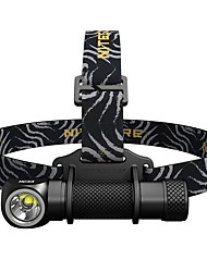 cheap -Nitecore HC33 Headlamps 1800 lm LED LED 1 Emitters Easy Carrying Camping / Hiking / Caving Everyday Use Fishing Black