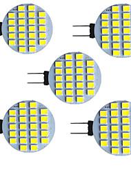 cheap -5pcs 2.5 W LED Bi-pin Lights 320 lm G4 G5 24 LED Beads SMD 2835 9-30 V
