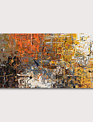 cheap -Oil Painting Hand Painted Abstract Abstract Landscape Modern Rolled Canvas Rolled Without Frame