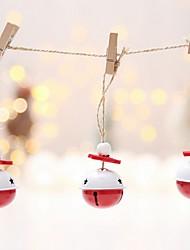 cheap -Christmas Ornaments Holiday Plastic & Metal Mini Novelty Christmas Decoration