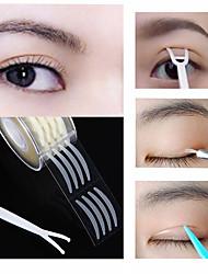 Недорогие -600pcs веко ленты стикер невидимый двойной веко паста прозрачная бежевая полоса самоклеящаяся натуральная лента для глаз инструменты для макияжа