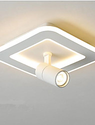 cheap -Square LED ceiling light rotating spotlight corridor porch entrance hall balcony lamps 24W
