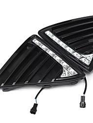 cheap -2pcs Car 7 LED Daytime Running Light For Ford Focus Fog Lamp 11-14