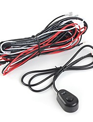 cheap -12V 40A LED Work Fog Light Lamp Bar Wiring Harness Kit ON OFF Switch Relay US