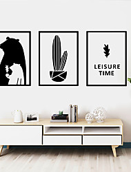 cheap -Decorative Wall Stickers - Animal Wall Stickers / Holiday Wall Stickers Animals / Halloween Decorations Living Room / Bedroom / Kitchen