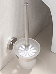cheap -Toilet Brush Holder Creative / Multifunction Modern Stainless Steel 1pc Wall Mounted