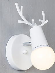 cheap -Cute Rustic Lodge Modern Contemporary Wall Lamps & Sconces Dining Room Shops Cafes Acrylic Wall Light 220-240V E27