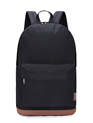 cheap -14 Inch Laptop / 15.6 Inch Laptop Commuter Backpacks Polyester Solid Color Unisex Water Proof Shock Proof
