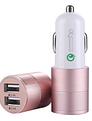 cheap -Mobile Phone Car Charger Multi-function Universal Usb Car Quick Charger One Tow Two Cigarette Lighter Conversion Plug