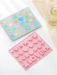 Недорогие -2 шт. 3d маленькое любовное сердце силиконовые формы для тортов diy выпечки желе конфеты шоколад мыло формы фондант торт отделочных работ