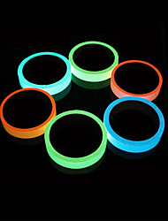 cheap -Luminous Reflective Tape Staycation Night Light 5m 15mm Self-Illuminating Glow in the Dark Warning Tape Adhesive Sticker For Home