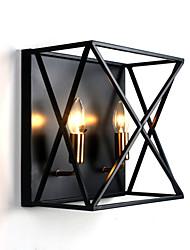 abordables -Créatif / Design nouveau Moderne contemporain / Style nordique Appliques Intérieur / Magasins / Cafés Métal Applique murale 110-120V / 220-240V 60 W