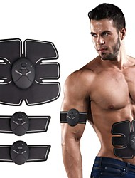 cheap -Abs Stimulator Abdominal Toning Belt EMS Abs Trainer Silicon Electronic Muscle Toner Wireless Weight Loss Ultimate Training Muscle Building Exercise & Fitness Gym Workout For Men Women Leg Abdomen