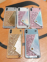 cheap -Case For Huawei Applicable to P30/P30 Pro/P30 Lite Glitter Patch Mate20/Mate20 Pro/Mate20 Lite Coin Purse With Lanyard P20/P20 Pro/P20 Lite/Mate10 Lite Diagonal Anti-drop Mobile Phone Case