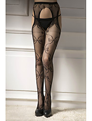 cheap -Women's Thin Pantyhose - Solid Colored 30D Black One-Size