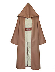 cheap -Inspired by Cosplay Anakin Skywalker Anime Cosplay Costumes Japanese Cosplay Suits Top Cloak Waist Belt For Men's / Padded Strap / Padded Strap