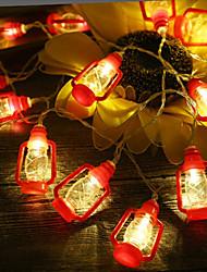 cheap -Vintage LED Kerosene USB Lighting String Warm Night Light Wedding Party Christmas Cafe Shop Bedroom Day Decoration
