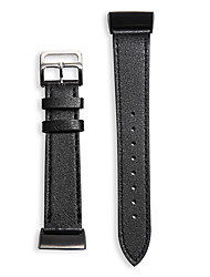 cheap -Watch Band for Fitbit Charge 2 / Fitbit Charge 3 Fitbit Business Band Genuine Leather Wrist Strap