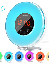 cheap -Led Touch Clock Light With FM Radio To Simulate Sunrise And Sunset