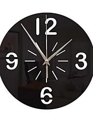Недорогие -Современный современный / Мода Акрил нерегулярный Классика В помещении Батарея Украшение Настенные часы Цифровой Спецификация Нет
