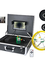 cheap -MOUNTAINONE 30M 9inch Wifi Wireless Sewer Pipe Inspection Camera 1/3 Inch CMOS 1000TVL Endoscope IP68 Mobile Viewing Video Recording Tube Camera TFT Screen