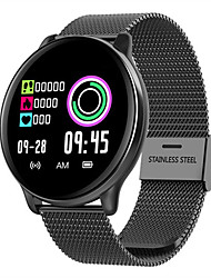 cheap -Smartwatch Digital Modern Style Sporty Silicone 30 m Water Resistant / Waterproof Heart Rate Monitor Bluetooth Digital Casual Outdoor - Black Black / Gray Pink
