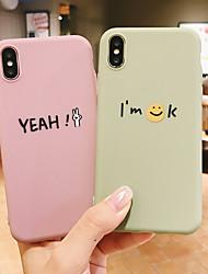 cheap -Case For Apple iPhone XS / iPhone XR / iPhone XS Max/7 8PLUS/6SPLUS/6S Pattern Back Cover 3D Cartoon TPU
