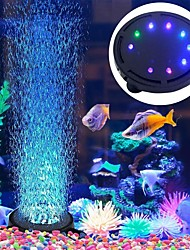 cheap -Waterproof Aquarium Lighting Submersible Led Bubble Air Light Colorful Aquarium Decoration Fish Tank Bubbler Lamp