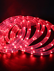 cheap -10m Flexible LED Light Strips 360 LEDs Warm White / White / Red Party / Decorative / Wedding 85-265 V 1 set