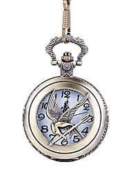 cheap -Men's Pocket Watch Quartz Vintage Style Creative New Design Casual Watch Analog - Digital Casual - Bronze