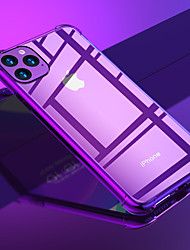 cheap -Shockproof Soft TPU Phone Case For iphone 11 Pro / iphone 11 / iphone 11 Pro Max Silicone Transparent Clear Cover For iphone XS Max XR XS X 8 Plus 8 7 Plus 7 6 Plus 6