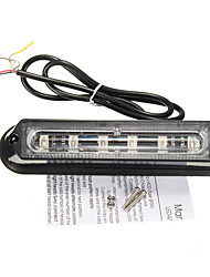 cheap -1pcs 6 LED Car Trailer Boat Emergency Light Bar Hazard Flashing Strobe Warning Lamp