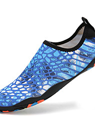 cheap -Men's Novelty Shoes Elastic Fabric Spring & Summer Sporty / Casual Athletic Shoes Fitness & Cross Training Shoes / Water Shoes Breathable Slogan Black / Purple / Blue