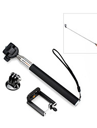 cheap -Telescopic Pole Retractable Easy to Carry For Action Camera Camping / Hiking / Caving Everyday Use Traveling ABS+PC Aluminum-magnesium alloy