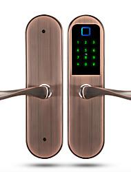 Недорогие -Factory OEM 2018ZR Алюминиевый сплав Замок / Блокировка отпечатков пальцев / Блокировка карты Умная домашняя безопасность Android система RFID / Отпирание отпечатка пальца / Разблокировка пароля